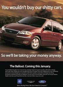 American Cars Bailout